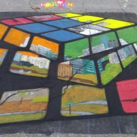 Houstix Cube (2015, Via Colori, Houston, TX)