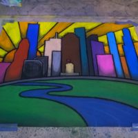 Houston in Stained Glass (2015, Memorial City Showcase, Houston, TX)